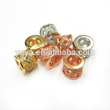 Cz6410 <b>Wholesale</b> Cz <b>Micro Pave Copper</b> Tube Spacer Beads ...
