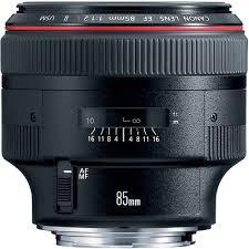 <b>Canon EF 85mm f/1.2L</b> II USM / 500px