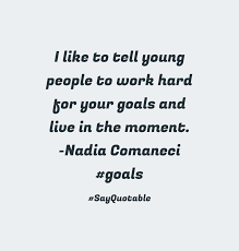 quote about i have always loved science but i have always loved quote image of i like to tell young people to work hard for your goals and