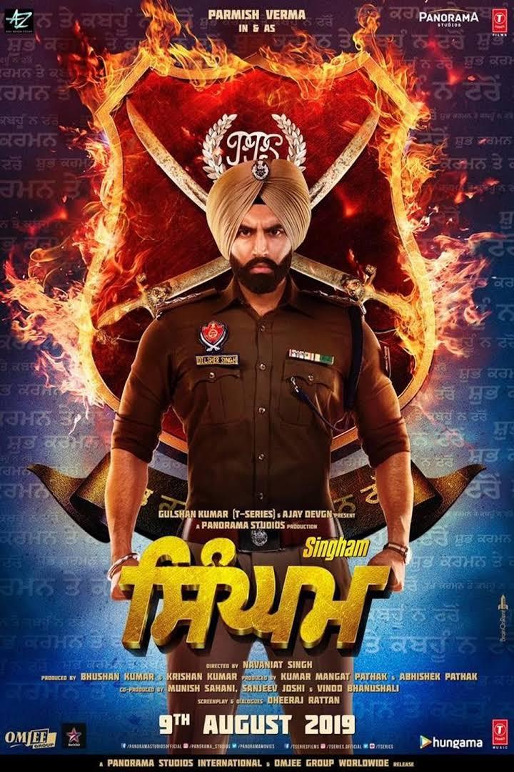 Singham (2020) Hindi Dubbed 720p HDRip Download