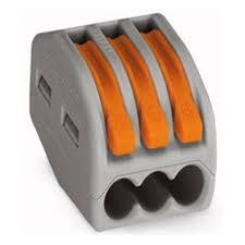 <b>Клеммы</b> WAGO <b>3</b>-<b>х</b> проводная, (серия 222-413) 20 штук — купить ...