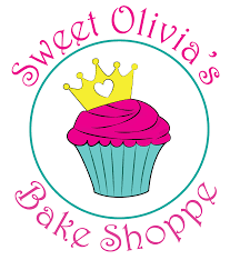 sweet olivia s bake shoppe on behance logo created for sweet olivia s bake shoppe i took the color cues from the colors used to decorate the store front and knew i wanted to use a tiara to