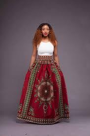 <b>Beautiful Red African</b> Print Maxi ~African fashion, Ankara, kitenge ...