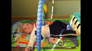 Best <b>Baby Play Gym</b>! Review of Fisher Price <b>Kick</b> & Play Piano Gym ...