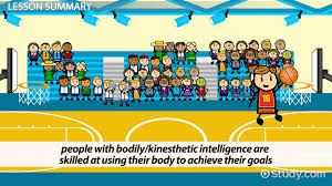multiple intelligences video lesson transcript com kinesthetic intelligence definition explanation