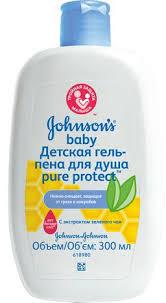 Описание Johnsons Baby Pure Protect <b>гель</b>-<b>пена для душа</b>