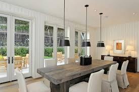 plank chunky modern dining table