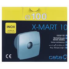 <b>Вентилятор CATA X-MART 10</b> INOX D100 мм 15 Вт в Кемерове ...