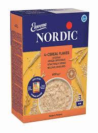 <b>Хлопья Nordic 4</b>-х зерновые 600г - купить с доставкой в интернет ...