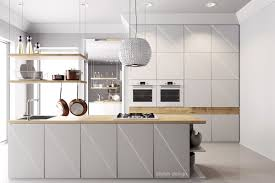 Gray And White Kitchen Designs 25 White And Wood Kitchen Ideas