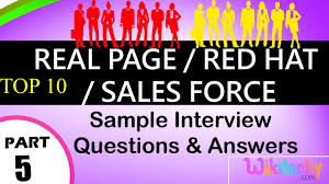 real page red hat s force top interview questions and real page red hat s force top interview questions and answers online videos