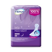 <b>Прокладки урологические</b> Tena <b>Lady Maxi</b> Night Pads купить с ...