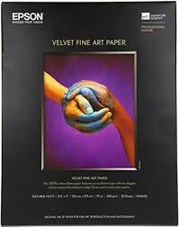 Epson Velvet Fine Art Paper (8.5x11 Inches, 20 ... - Amazon.com