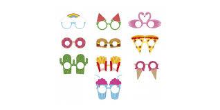 <b>Бумажные очки для вечеринок</b> Crazy Glasses - купить в интернет ...