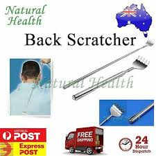 Back Scratcher Scratch <b>Telescopic Portable Extendable</b> Extending ...
