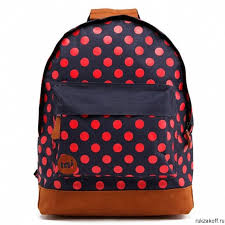 <b>Рюкзак Mi</b>-<b>Pac</b> PolkaDot All <b>Polka</b> Navy/Bright Red купить по цене ...