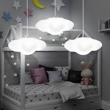 <b>Creative cloud</b> led chandelier kindergarten children room cloud <b>light</b> ...