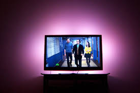 picture of ambient light kit tv purple tvjpg accent ambient lighting