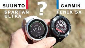 Часы <b>Suunto Spartan Ultra</b> или Garmin Fenix 5X – что выбрать ...