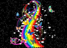 Image result for butterflies and rainbows