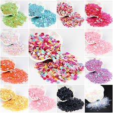 <b>2500Pcs</b>/<b>Lot</b> 6mm Flat Plum Sequins Flower Paillettes Center Hole ...