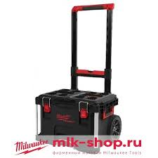 <b>Ящик</b> на <b>колесах</b> Milwaukee PACKOUT Trolley <b>Box</b> 4932464078 ...