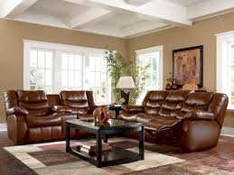 amazing living room brown leather furniture decorating ideas brown bonded leather reclining loveseat with center console amazing living room furniture