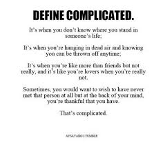 Its Complicated Relationship Quotes. QuotesGram via Relatably.com
