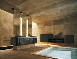 best modern spacious high end bathroom tiles interior design decorating ideas with small pool indoor also awesome bathroom design nice pendant