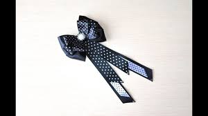 <b>Галстук бабочка</b> Мастер класс канзаши галстук на девочку DIY tie ...