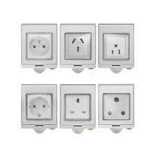 <b>SONOFF</b>® <b>S55</b> Waterproof <b>WIFI</b> Smart Socket Switch UK/AU/US/FR ...