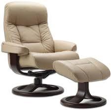 room ergonomic furniture chairs: amazoncom leather norwegian ergonomic scandinavian lounge reclining chair fjords  muldal small recliner furniture nordic line genuine black leather