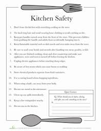 printable kitchen safety worksheets  kitchen and food safety quiz    printable kitchen safety worksheets