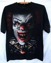 Spiral Direct Scary Clown Circus of Horror skulls gargoyle unisex ...