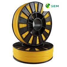 Купить нить для 3D принтера <b>ABS пластик</b> 1,75 SEM <b>желтый</b>