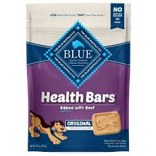 Blue <b>Buffalo</b> - Health <b>Bars</b> Baked With <b>Beef For</b> Dogs - 16oz : Target
