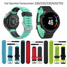 <b>13colors For Garmin Forerunner</b> 235 WatchBand Silicone Strap ...