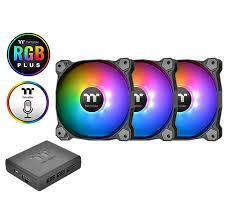 Global - Pure Plus 12 RGB Radiator Fan TT Premium ... - Thermaltake