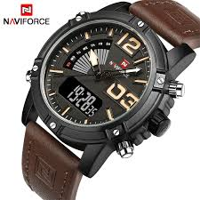 2019 <b>NAVIFORCE Men's Fashion</b> Sport <b>Watches Men</b> Quartz ...