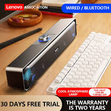 <b>Lenovo Thinkplus TS32</b> Wireless Bluetooth Computer Speaker USB ...
