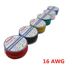 <b>10m 16 AWG Flexible</b> Silicone Wire RC Cable OD 3.0mm Line 6 ...