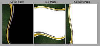 Posted On November 18 2014 By Maryzylgarcera Manual Style Page ... Manual Cover Title Page Template Page Template Design .
