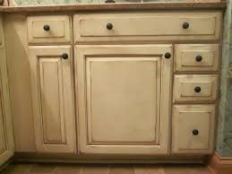 onyx distressed finish kitchen cabinets