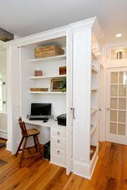 kitchen solution traditional closet: kitchen desk ideas via ami designs