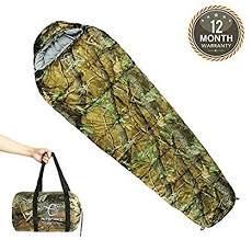 Hitorhike Mummy <b>Sleeping Bag</b> 0 Degree with Carry Bag <b>Portable</b> 4 ...
