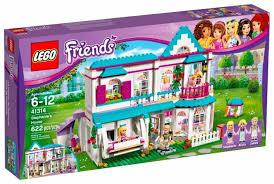 <b>Конструктор LEGO Friends</b> 41314 Дом Стефани купить по цене ...