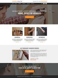 professional html website templates to create your website locksmith service professional website creating html website template design