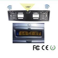 Fit For <b>European Car</b> SUV <b>Auto 170</b>° Rear View Camera License ...