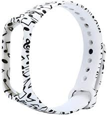 Aliturtled Replacement <b>Color Printing</b> Silica Gel Wristband <b>Band</b> Belt ...