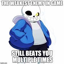 Sans Undertale Meme Generator - Imgflip via Relatably.com